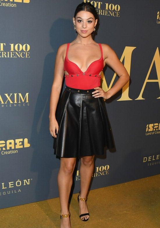 Kira Kosarin Maxim Hot 100 Experience - Arrivals