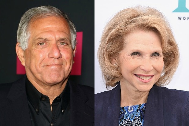 Les Moonves Shari Redstone