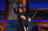 Liv Tyler Stephen Colbert