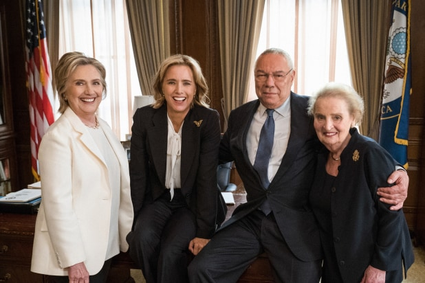 Madam Secretary Hillary Clinton Colin Powell Madeleine Albright Tea Leoni