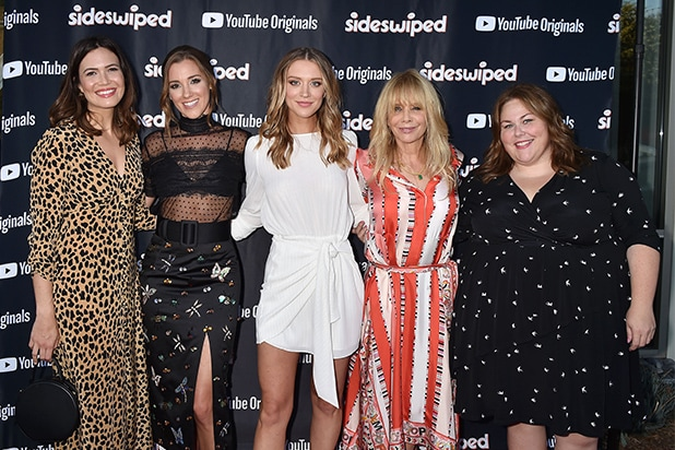 Mandy Moore, Carly Craig, Chelsea Frei, Rosanna Arquette and Chrissy Metz