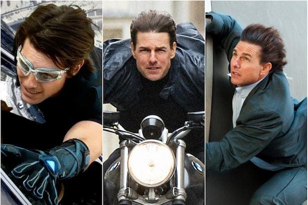 Tom Cruise Mission Impossible Movies Ranked
