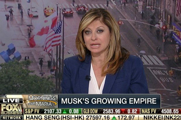 Maria Bartiromo on 'Mornings With Maria'