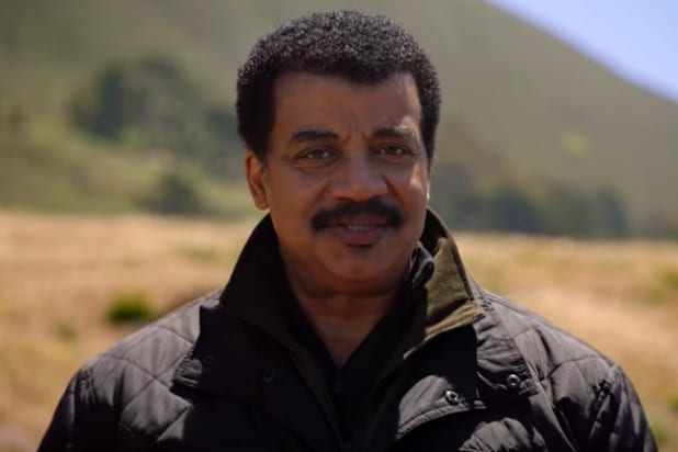 Neil deGrasse Tyson in 'Cosmos: Possible Worlds'