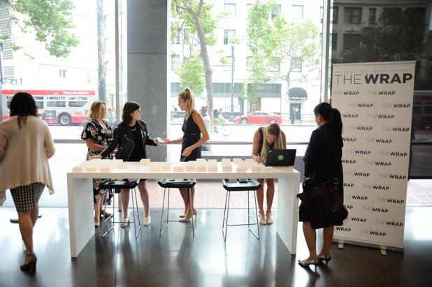 Welcome Desk at Power Women Breakfast, San Francisco
