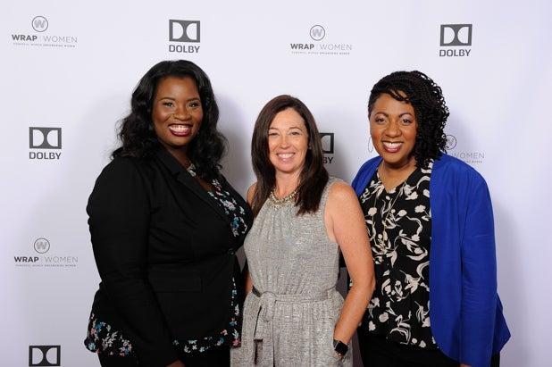 Farrah Allen, Jennifer Bowcock and Cathryn Posey at Power Women Breakfast San Francisco
