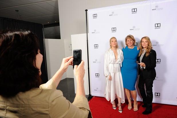 Madelyn Deutch, Sharon Waxman and Lea Thompson at Power Women Breakfast San Francisco