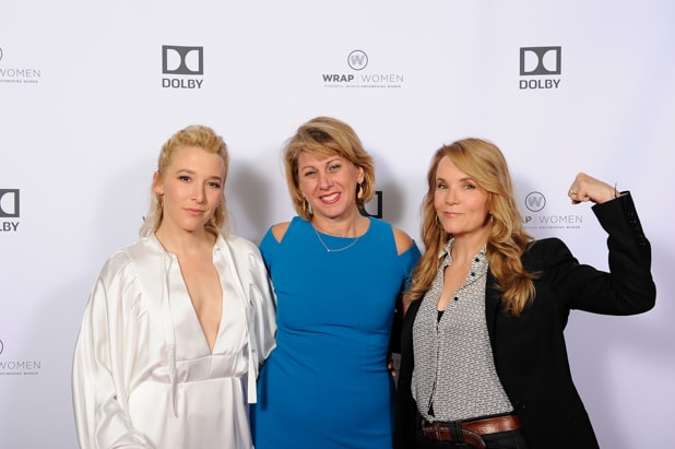 Madelyn Deutch, Sharon Waxman and Lea Thompson at Power Women Breakfast San Francisco