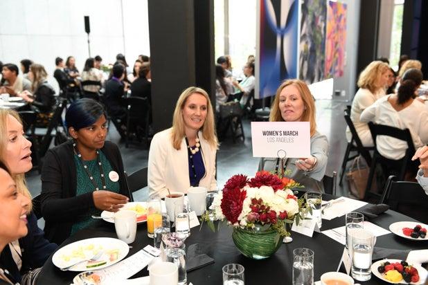 Joanne Fedeyko and guests at Power Women Breakfast San Francisco