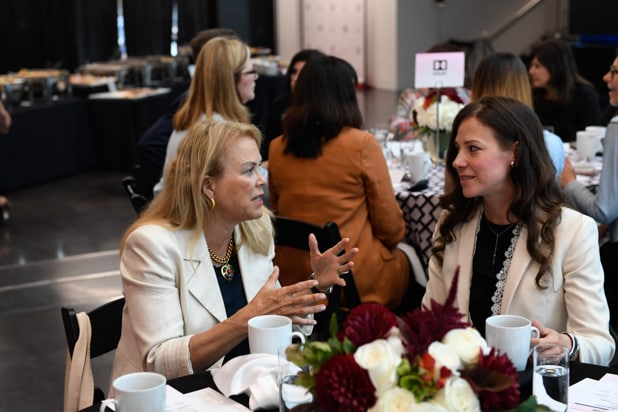 Power Women Breakfast San Francisco, Photographed by Genevieve Shiffrar for TheWrap