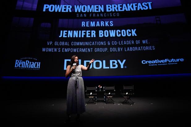 Jennifer Bowcock at Power Women Breakfast San Francisco