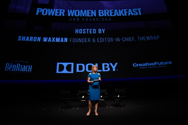 Sharon Waxman at Power Women Breakfast San Francisco