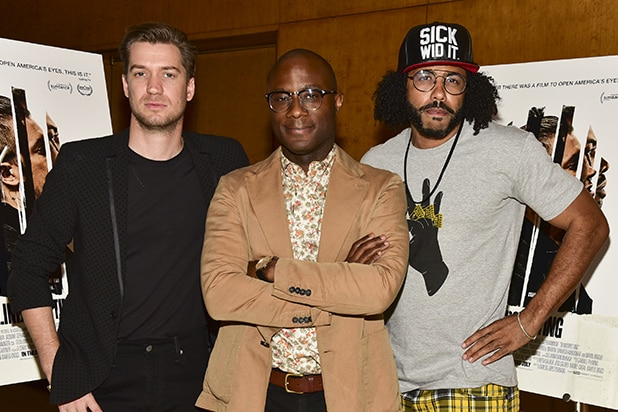 Rafael Casal, Barry Jenkins, and Daveed Diggs