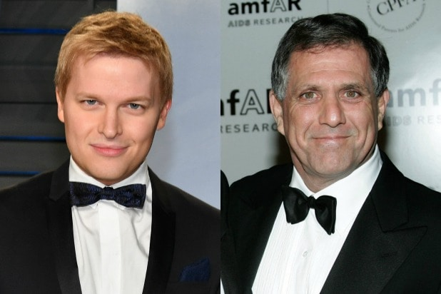 Ronan Farrow Les Moonves