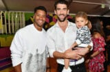 Russell Wilson Michael Phelps Nickelodeon Kids' Choice Sports 2018 - Red Carpet