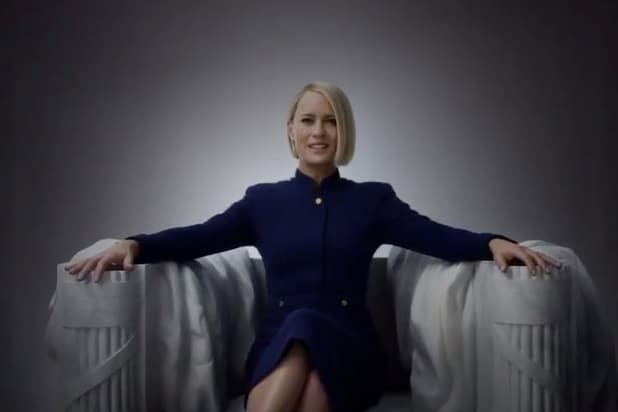 House of Cards': Watch New President Claire Underwood's July
