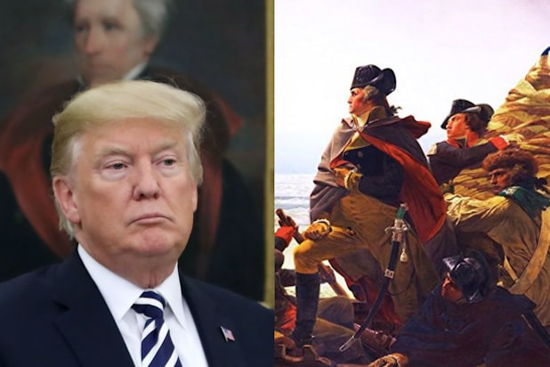 trump george washington