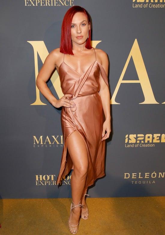 Sharna May Burgess 2018 Maxim Hot 100 Party