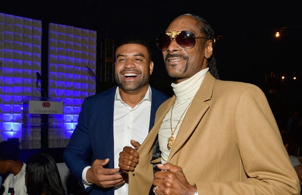 Shawne Merriman and Snoop Dogg Sports Spectacular