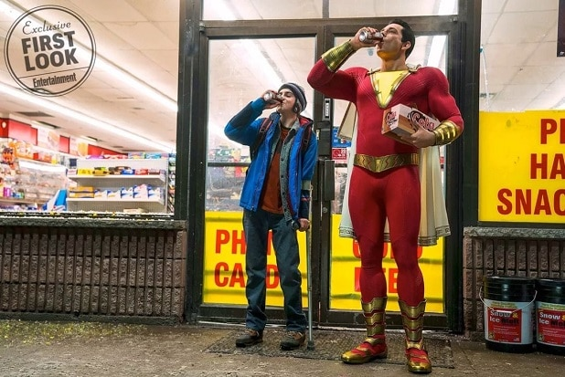 'Shazam:' Official First Look at Zachary Levi and Jack ...