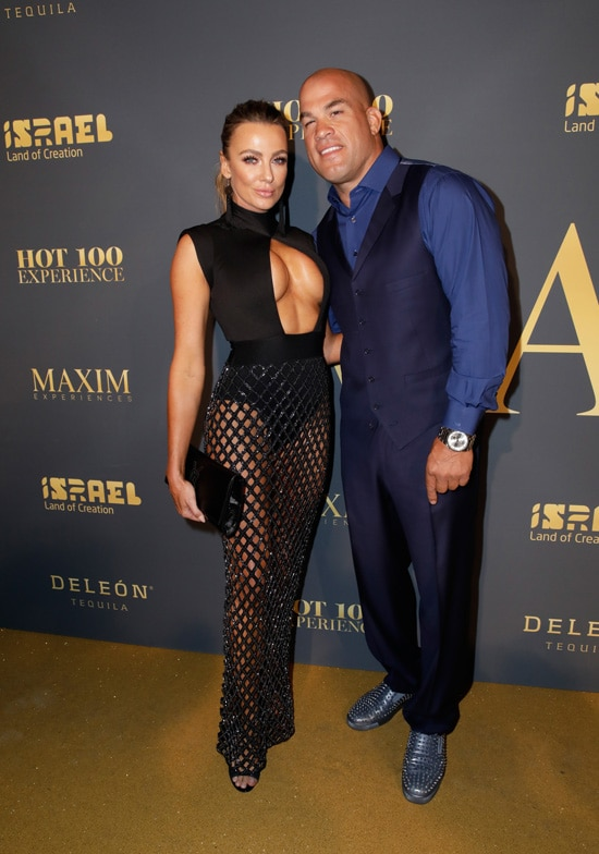 Tito Ortiz and Amber Miller 2018 Maxim Hot 100 Party