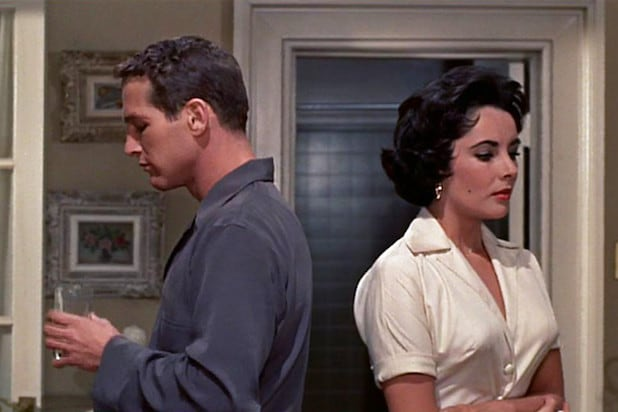 cat on a hot tin roof paul newman elizabeth taylor