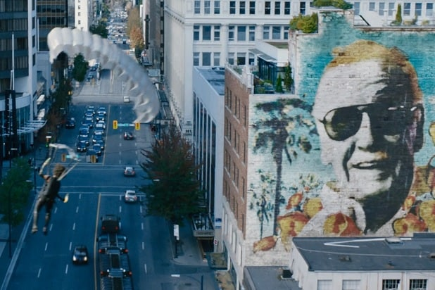 deadpool 2 stan lee cameo wall mural