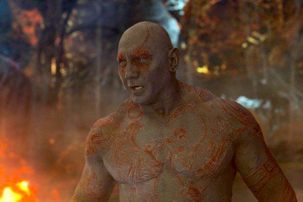 drax dave bautista guardians of the galaxy vol 2 james gunn disney