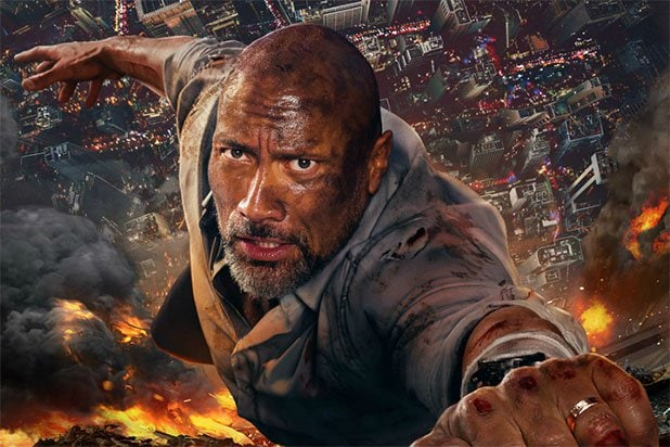 dwayne the rock johnson skyscraper best trash movies of 2018