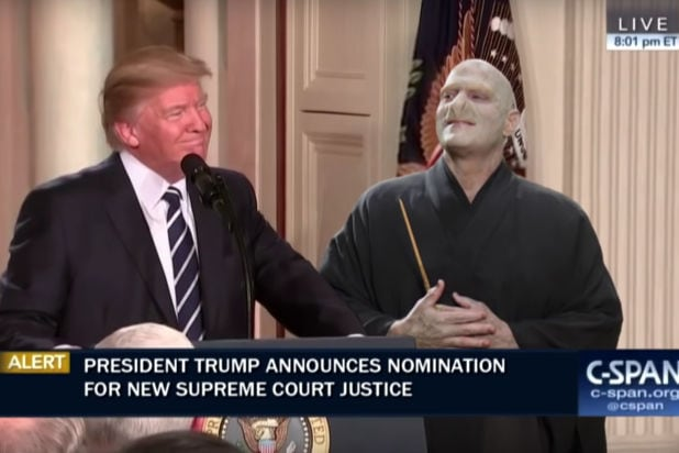 jimmy kimmel live donald trump lord voldemort supreme court justice