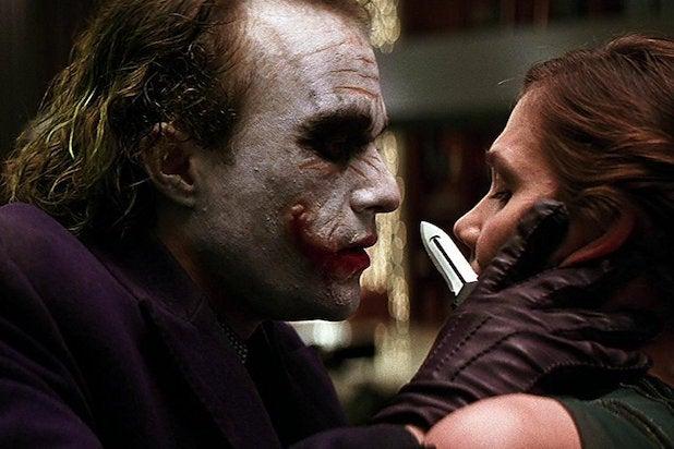 joker heath ledger maggie gyllenhaal