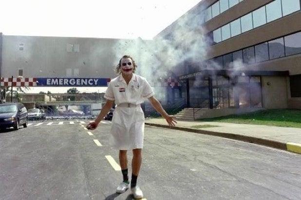 heath ledger joker hospital