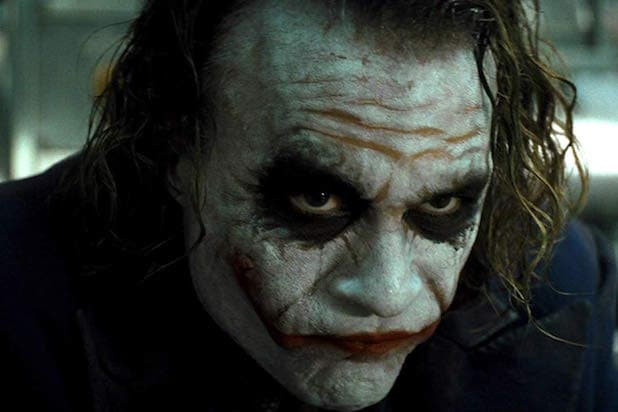 heath ledger joker scars