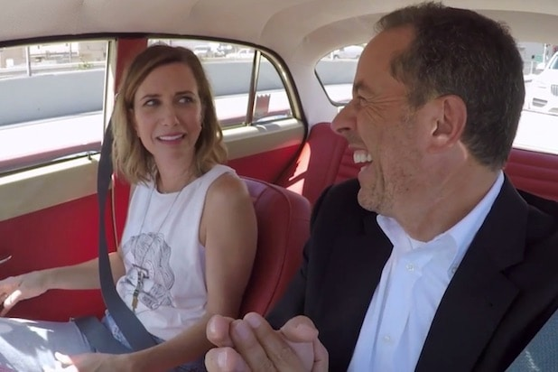 Kristen Wiig Jerry Seinfeld Comedians in Cars Getting Coffee