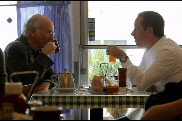 Larry David Jerry Seinfeld Comedians in Cars Getting Coffee