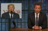late night with seth meyers donald trump why are you so weird