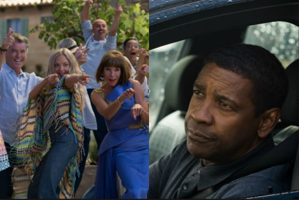 Equalizer 2,' 'Mamma Mia! Here We Go Again' in Close Race at Box Office