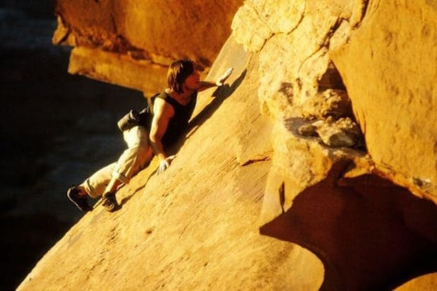 mission impossible 2 cliff