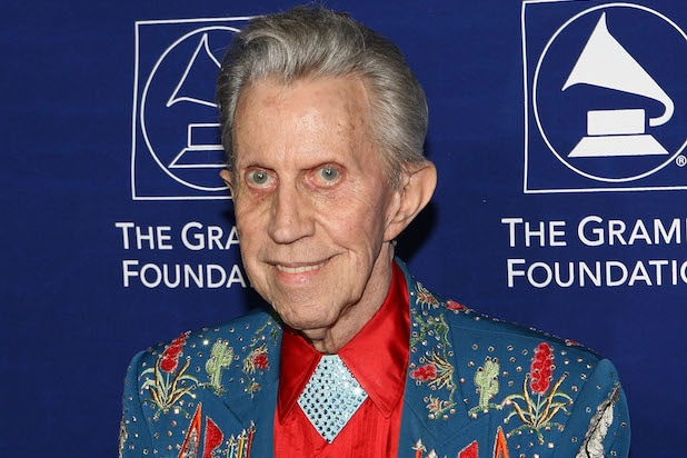 "LOS ANGELES, CA - FEBRUARY 08: Three time Grammy winner artist Porter Wagoner arrives at ""The Soul of Country"" the 9th Annual Grammy Foundation Music Preservation Project held at the Wilshire Ebell Theater on February 8, 2007 in Los Angeles, California. (Photo by Ryan Miller/Getty Images)"