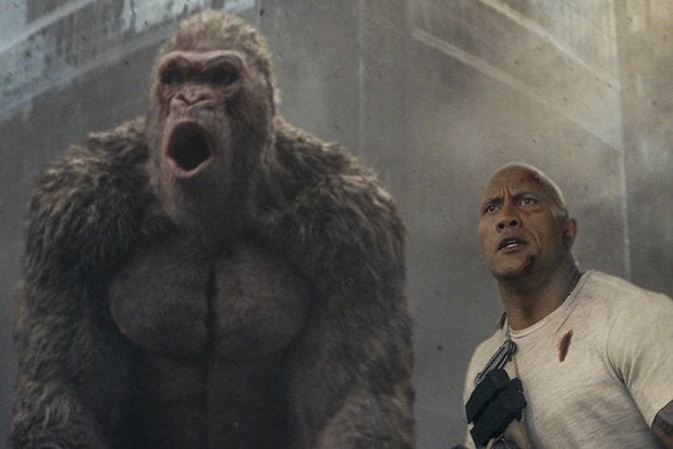 rampage the rock the best trash movies of 2018