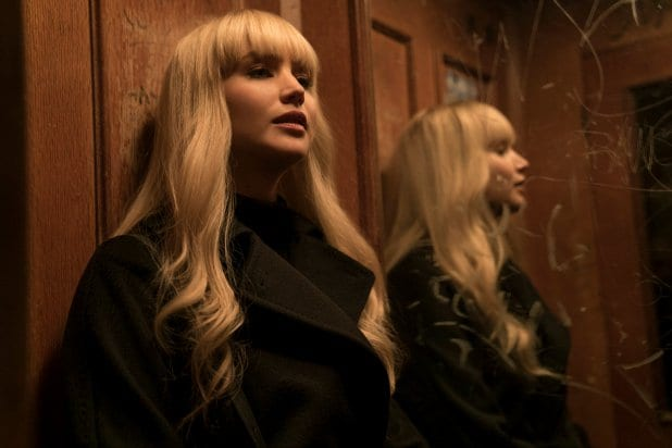 red sparrow best trash movies of 2018