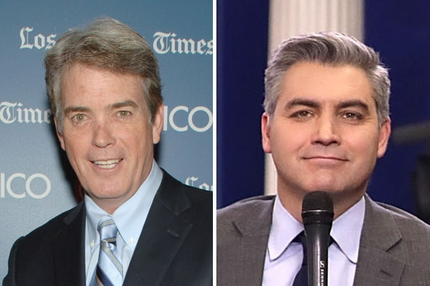 john roberts jim acosta cnn fox news