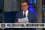 stephen colbert late show donald trump intervention helsinki vladimir putin