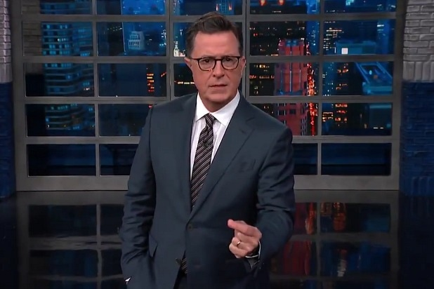 the late show with stephen colbert you're not crazy donald trump is crazy