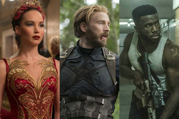 the most 2018 movies of 2018 the first purge avengers infinity war red sparrow
