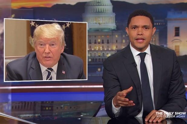 Trevor Noah On Trump's Helsinki Clarification: 'Get the F--- Outta Here'