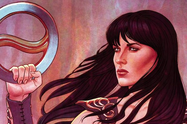 xena warrior princess comics