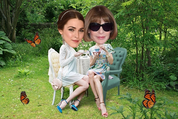 Anna wintour bee shaffer moguls on a boat