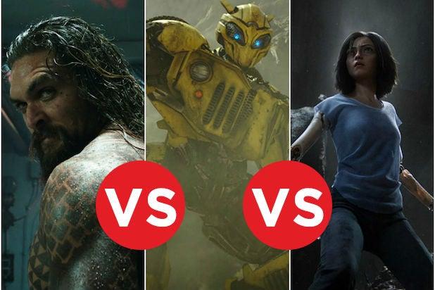 Box Office Showdown Aquaman vs Bumblebee vs Alita