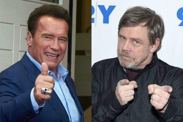Arnold Schwarzenegger Mark Hamill
